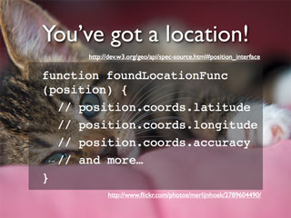 You've got a location!